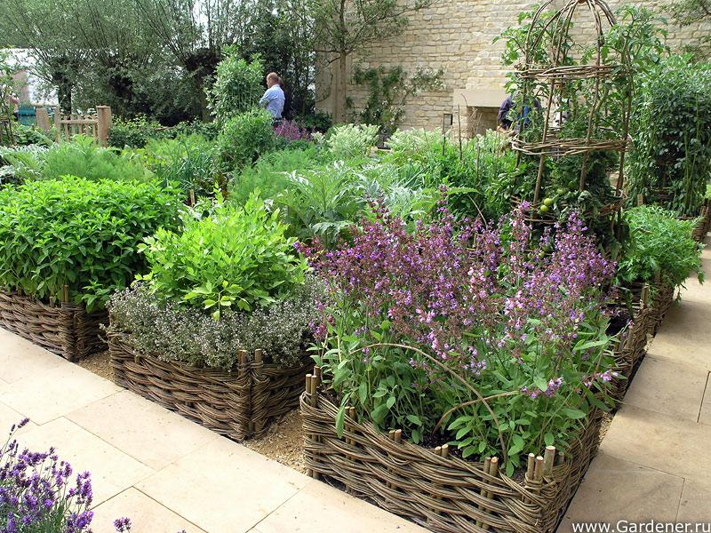 Огород как элемент ландшафтнго