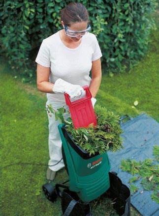 Купить садовый измельчитель