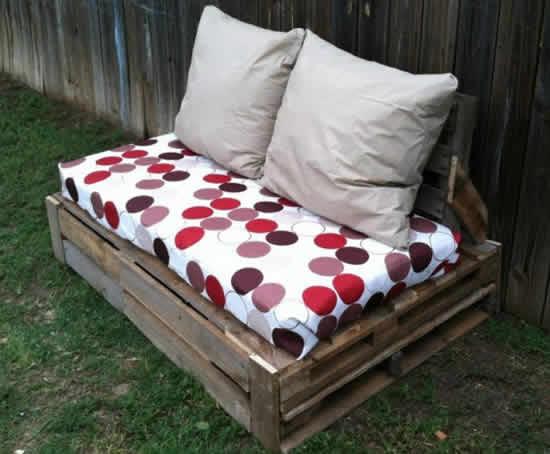 Садовая мебель своими руками из деревянных поддонов - info-s.